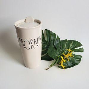 Rae Dunn Morning Coffee Tea Travel Mug